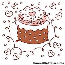 Gâteau dessin à télécharger – Anniversaire images