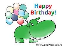 Hippopotame images – Anniversaire dessins