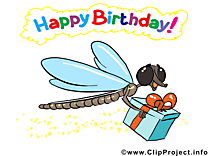 Libellule illustration – Anniversaire images
