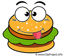 Dessin illustration à télécharger hamburger gratuite