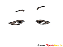 Illustration yeux – Dessin images