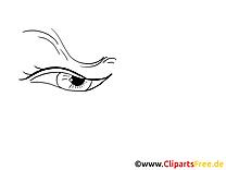 Oeil clip art à imprimer – Dessin dessin