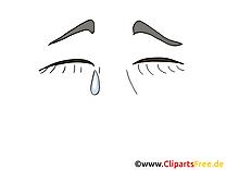 Pleure dessin – Dessin cliparts à télécharger