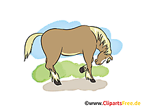 Illustration à télécharger cheval clipart