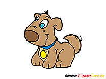 Chien clip arts gratuits – Ferme illustrations