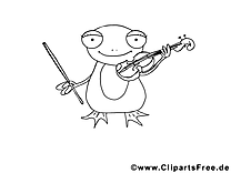 Grenouille dessin – Coloriage animal à télécharger