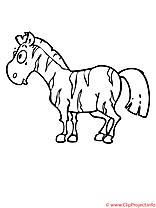 Zebre coloriage