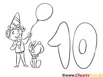 Anniversaire coloriages gratuit clipart images t l charger gratuit - Clipart anniversaire gratuit telecharger ...