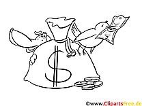 Coloriage argent image à télécharger