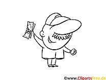 Dollars dessin – Argent gratuits à imprimer