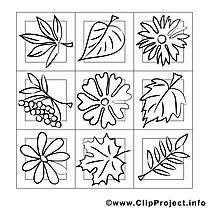 Décoration image gratuite – Automne à imprimer