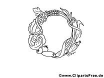 Légumes dessins gratuits – Automne à colorier