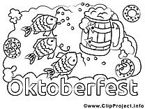 Oktoberfest clip art gratuit – Automne à imprimer
