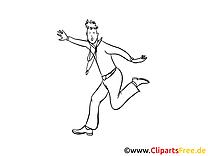 Homme dessin – Mardi gras gratuits à imprimer