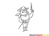 Pirate images – Mardi gras gratuit à imprimer