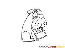Bulldog image gratuite – Chien à imprimer