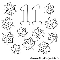 11 feuilles images – Nombres gratuits à imprimer