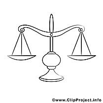Balance illustration – Divers à imprimer