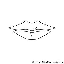 Lèvres image gratuite – Divers à imprimer