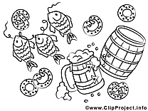 Oktoberfest images à  imprimer clipart gratuit