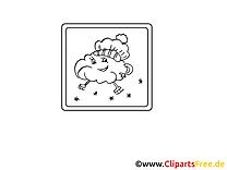 Patins à glace dessin – Divers gratuits à imprimer