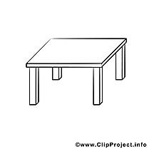 Table clip arts – Divers à imprimer
