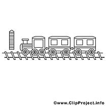 Train image gratuite – Divers à imprimer