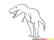 Dessins gratuits dinosaures à colorier