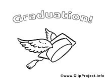 Ailes chapeau image gratuite – École à imprimer