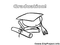 Chapeau cliparts gratuis – École à imprimer