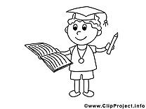 Classe images – École gratuit à imprimer
