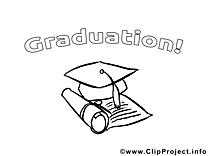 Clip arts chapeau – École à imprimer