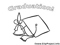 Clochette image – École images à colorier