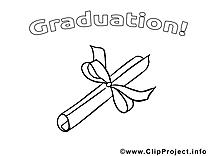 Diplôme dessin – École gratuits à imprimer