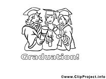 Diplômés images gratuites – École à colorier
