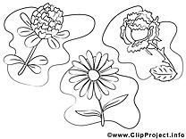 Clip art fleurs à imprimer images gratuites
