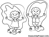 Enfants clipart à imprimer dessins gratuits