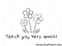Illustration fleurs à colorier gratuite
