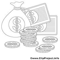Argent images – Économie gratuit à imprimer