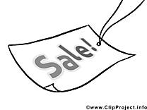 Braderie clipart – Économie dessins à colorier