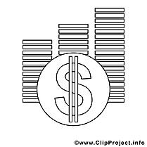 Dollar images – Économie gratuits à imprimer