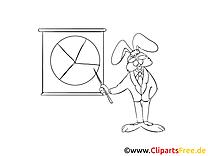 Lapin graphique clip art gratuit – Économie à colorier