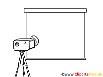 Projecteur dessin gratuit – Économie à colorier