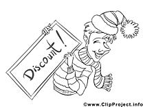 Réduction clip art gratuit – Économie à imprimer