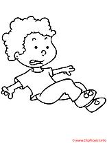 Image gratuite garçon – Enfants à imprimer