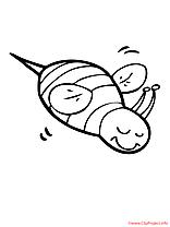 Insect clip arts – Été à imprimer