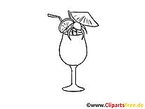 Cocktail images – Soirée gratuit à imprimer