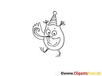 Hibou image à télécharger – Soirée à colorier