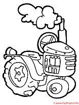 La technique du fermier coloriage