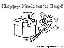 Cadeau illustration – Fête des mères à imprimer